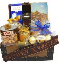 Chocolate and nuts hamper