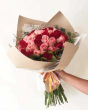 Valentine Roses and Tulips
