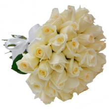 36 Cream Roses Bouquet