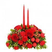 Merry and Bright Christmas Centerpiece
